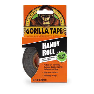 Gorilla Tape Black To Go