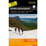 Calazo Sareks Nationalpark 1:50 000