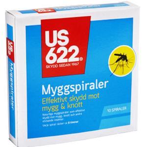 US622 Myggspiraler