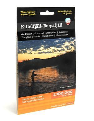 Calazo Kittelfjäll-Borgafjäll 1:100 000