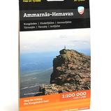 Calazo Ammarnäs-Hemavan 1:100 000