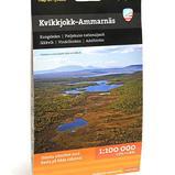 Calazo Kvikkjokk-Ammarnäs 1:100 000